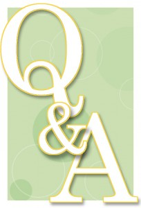 Question and answer logo