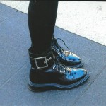 FASHION WEEK SHOES- COMBAT  BOOTS
