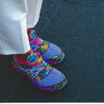 fASHION wEEK  COLORFUL SNEAKERS