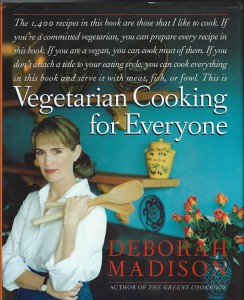 Fashion FLash Book Review-- Vegetarian Cooking for Everyone