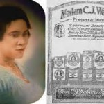 Woman's History Month– Mme. C.J. Walker