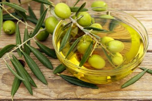 Olive oil  for the skin