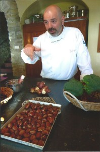 Chef Franco teaches how to cook for hralth and beauty