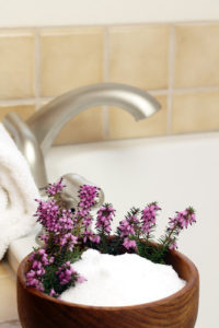 Epsom salts bath