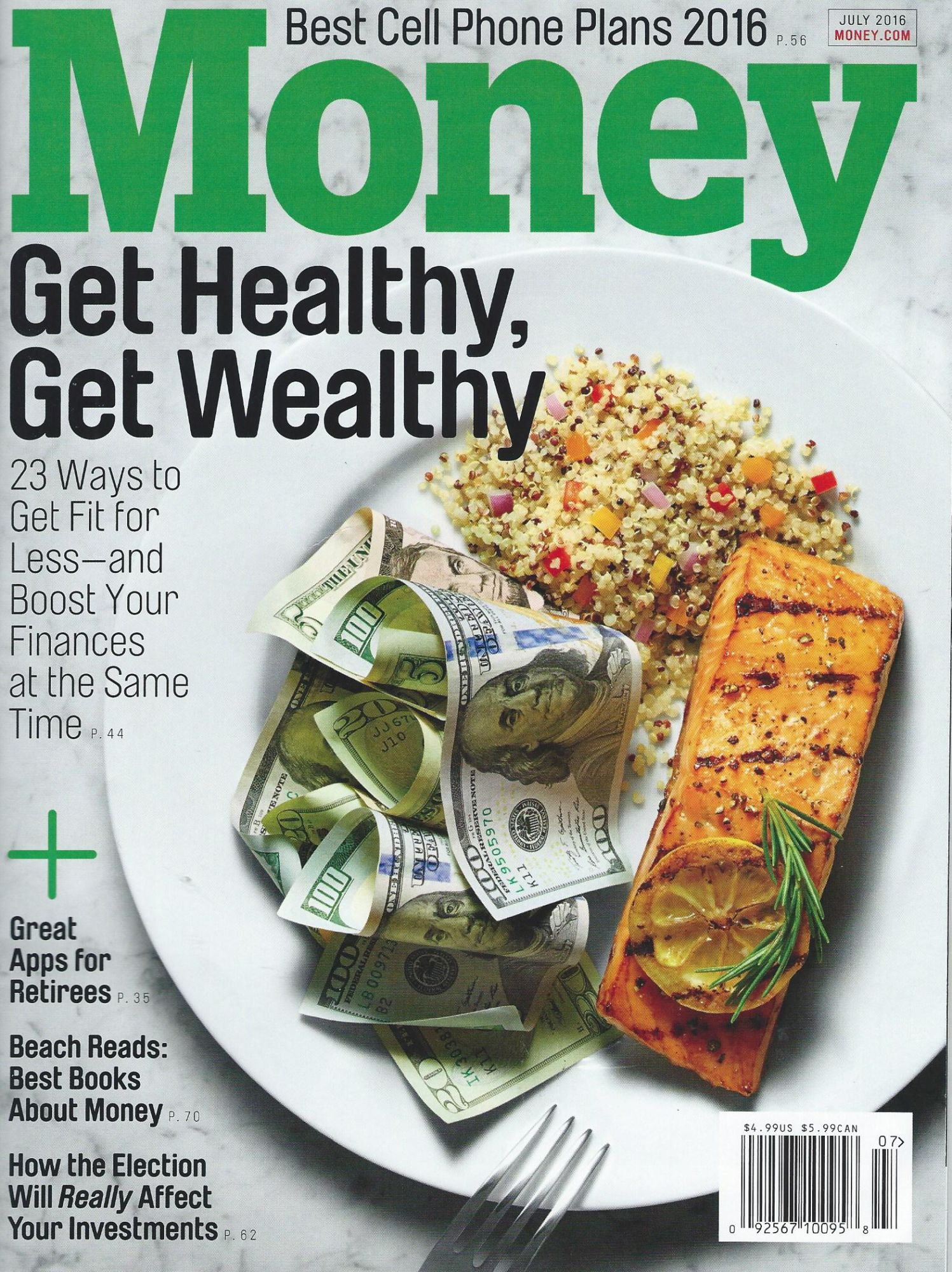 Fashion Flash on money and health