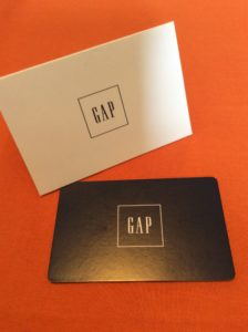 Gap Fall Giveaway Gift Card
